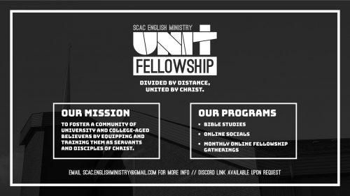 UNIT Fellowship