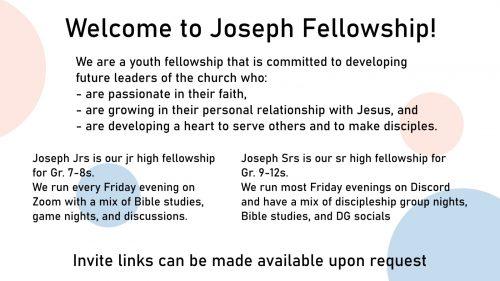 Joseph Fellowship