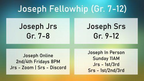 Joseph Fellowship - Oct.2021